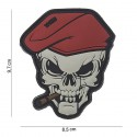 Patch 3D PVC : skull sigar