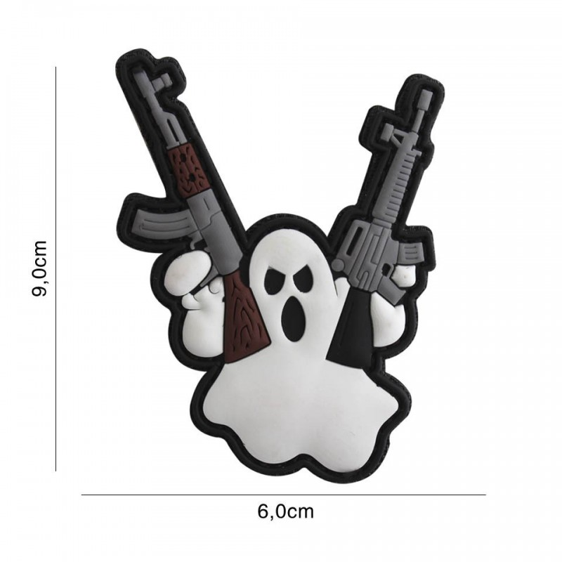 Patch 3D PVC Terror Ghost