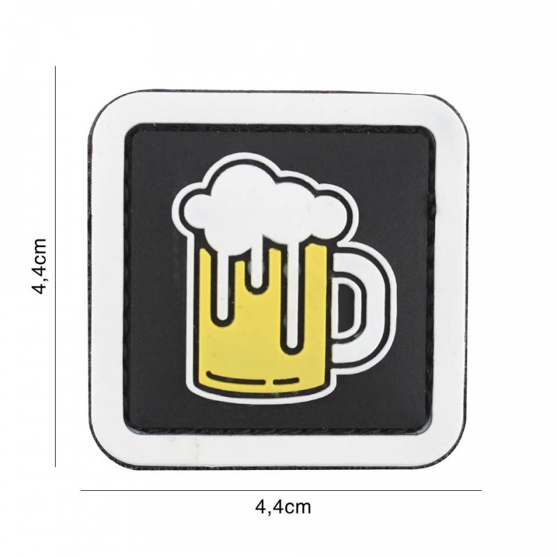 Patch 3D PVC Beer