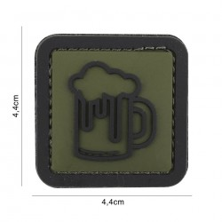 Patch 3D PVC Beer green