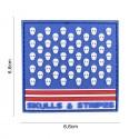 Patch 3D PVC Sulls & Stripes square No6143