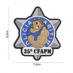 Patch 3D PVC CFAPM No6114
