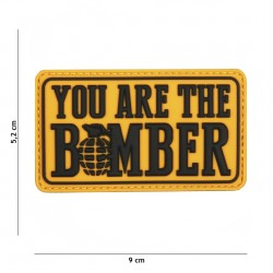 Patch 3D PVC You are the bomber