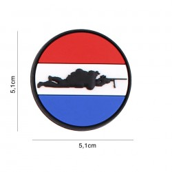 Patch 3D PVC Sniper Dutch round No5127
