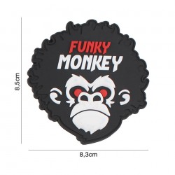Patch 3D PVC Funky Monkey