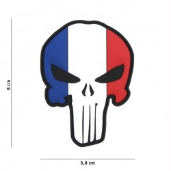 Patch 3D PVC Punisher French