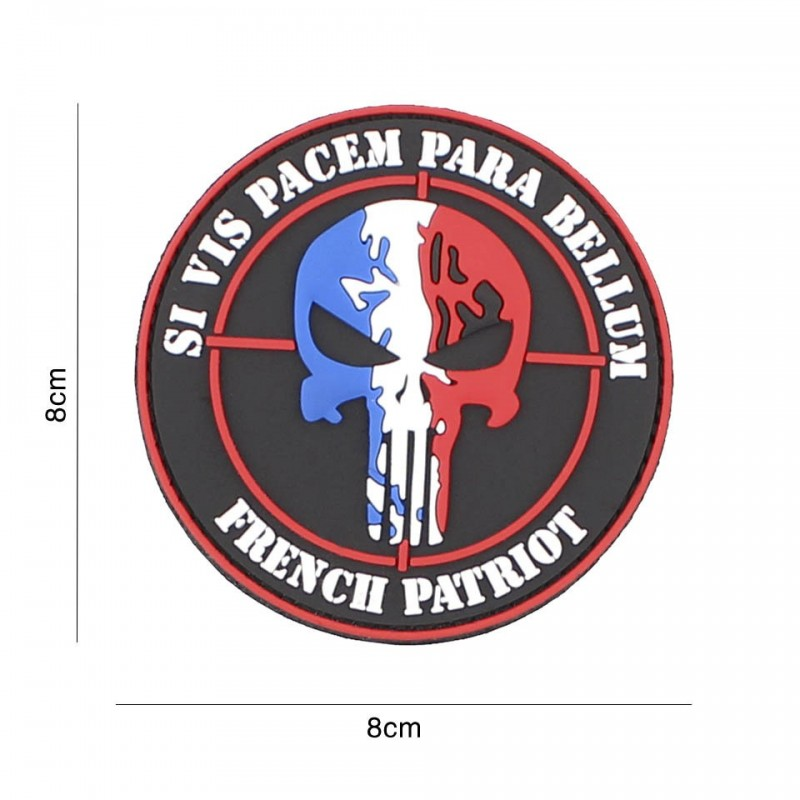 Patch 3D PVC French Patriot