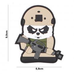 Patch 3D PVC Tactical Panda