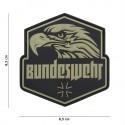 Patch 3D PVC Bundeswehr green