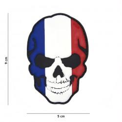 Patch 3D PVC skull  France