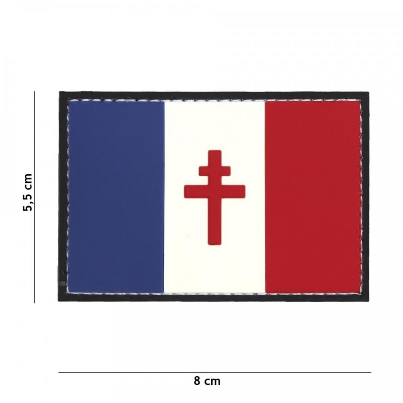 Embleem 3D PVC Franse vrijheid No9044