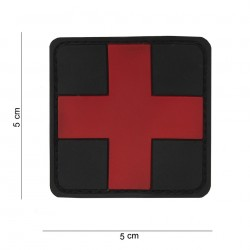 Patch : 3D PVC Cross