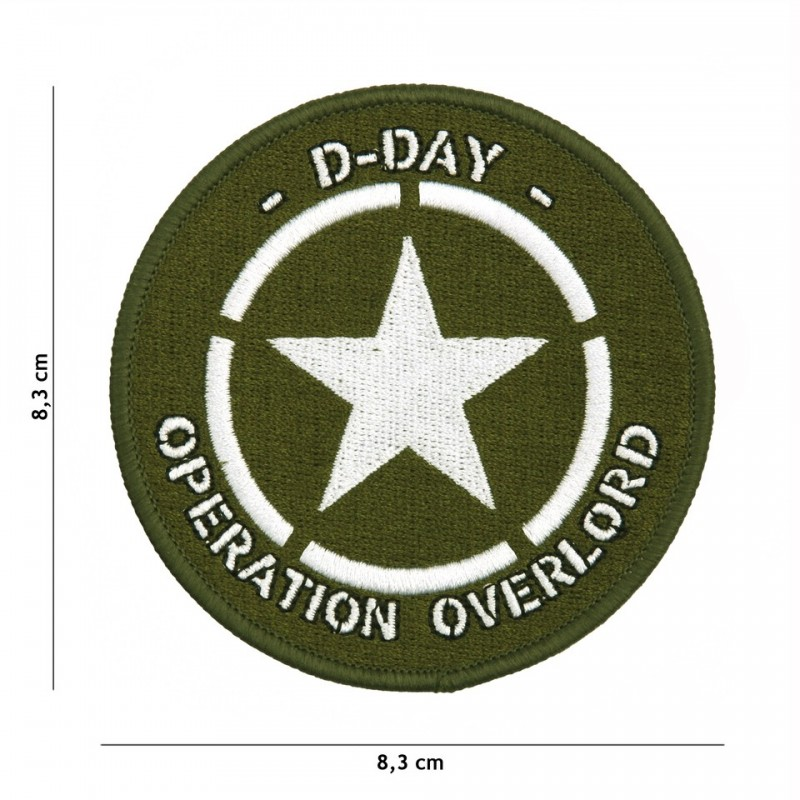 Patch D-Day Allied star No7108