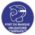 Panneau Signalétique Masque