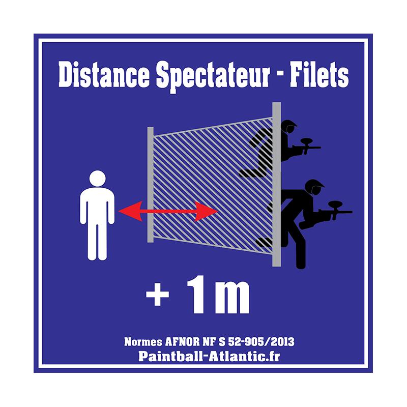 Panneau Signalétique Filet
