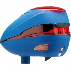 Dye Rotor Paintball Loader R2 -Patriot / Blue Red