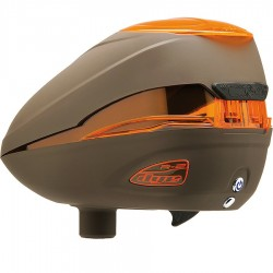 Dye Rotor Paintball Loader R2 -Lava / Brown Orange