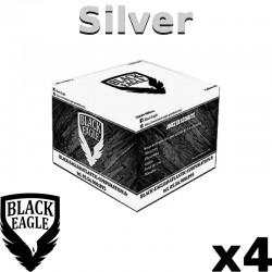 Le Lot de 4 Cartons de 2000 billes Paintball C68 BE Silver