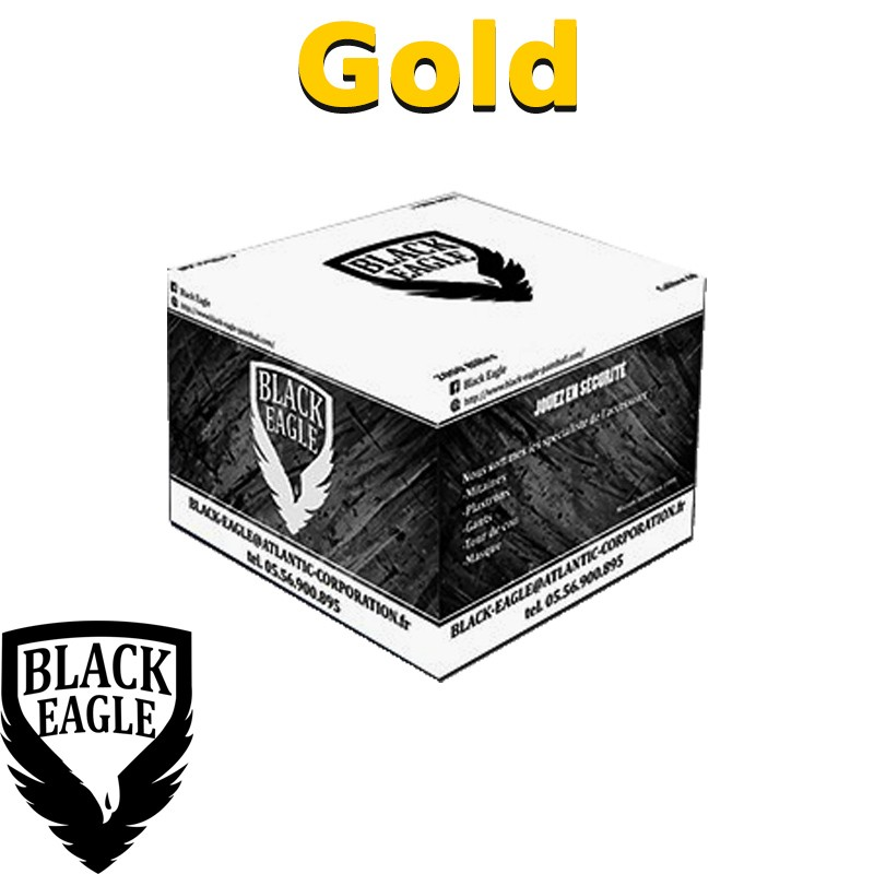 Carton de 2000 billes Paintball C68 BE Gold