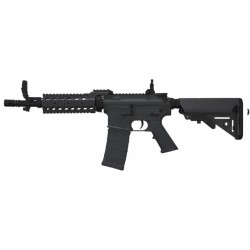 REPLIQUE LONGUE BT M4 CQB RIS- BLACK 10.5