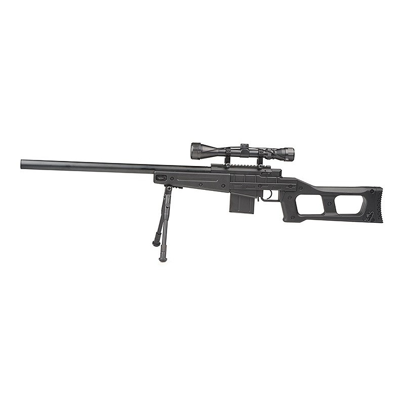 MB4408D Sniper Rifle Replica with Scope and Bipod
