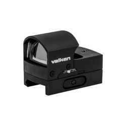 Optics - Valken Mini Hooded Reflex RD Sight (Molded) w/QD Mo