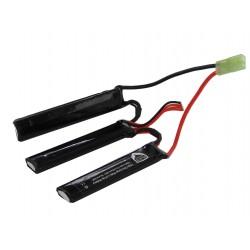 1300mah 11.1V 3 pcs type lipo battery