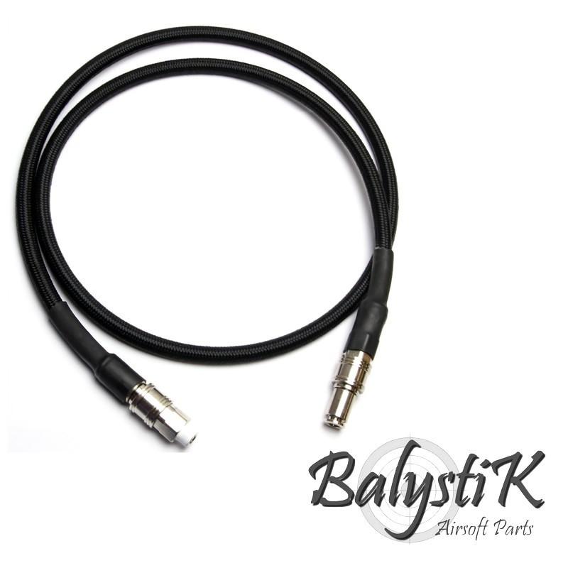 Balystik ligne complète HPA haut débit tressée nylon noire (version EU)