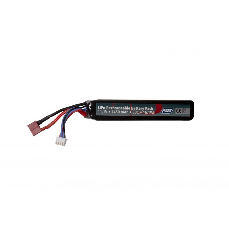 Batterie ASG 11,1V 1450 mAh 16,1 Wh 30 C LiPo TP