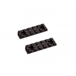 M-Lok Rail Short 5 slots 2 pcs/set ASG