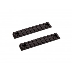 M-Lok Rail Short 9 slots 2 pcs/set ASG