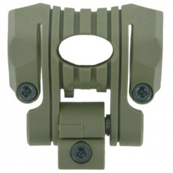 OT 0424 5 Positions Nylon Plastic Gun Mount for Flashlight  DE [Black Eagle]