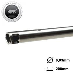 Canon de précision airsoft Madbull 6,03 x 208 tight bore acier EVO 3
