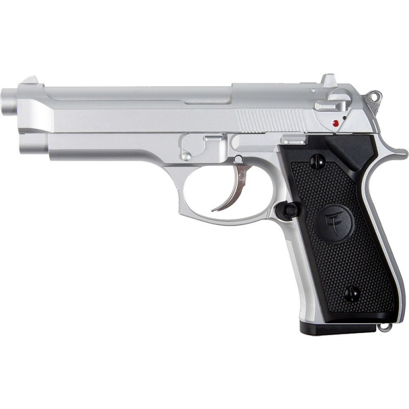 airsoft gun SAIGO 92 SILVER GAZ