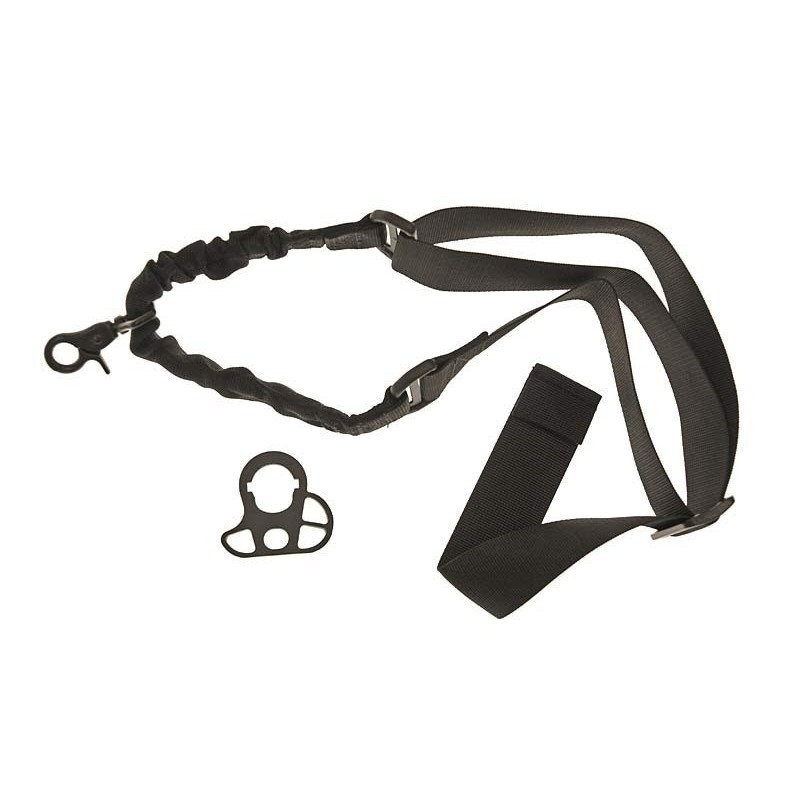 One point Bungee sling with mount-black Black Eagle Corporation 2K20