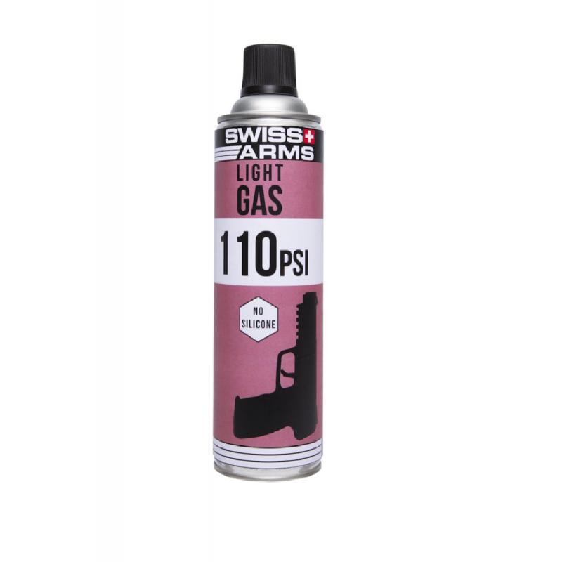 Bouteille de gaz Swiss arms 5-7 Light (110 PSI) sec 600ml