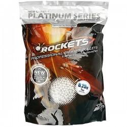Sachet de 4000 billes 0,25g Rockets Platinum Series