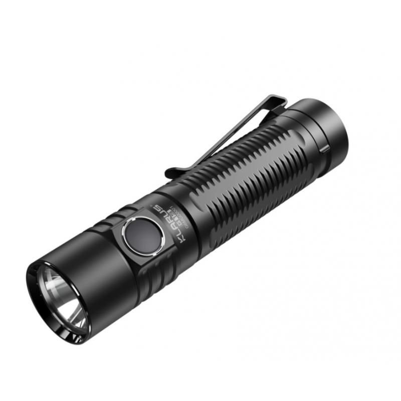 Lampe tactique compacte rechargeable G15 LED - 4000 lumens