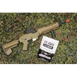 J-16 Kit SIG SAUER 556 AEG Full Metal 450BB's TAN