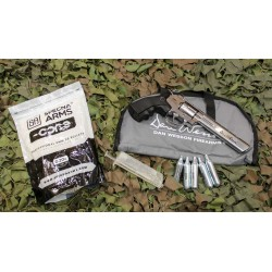 J-10 Kit Dan wesson 6 revolver, airsoft gun cal. 6 mm BB CO2