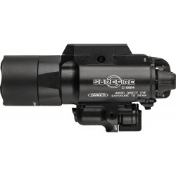 Surefire X400 Handgun Flashlight With Red Laser Sight