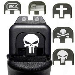 Glock rear plate