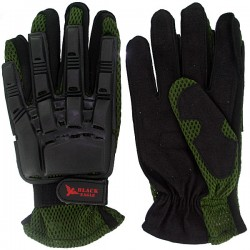 Airsoft Paintball Vexor gants Green M
