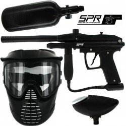 Kit paintball BE SPR ( air+masque+loader)
