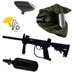 Le paintball pack SW1 Yankee US Tiger Mirror Air 3000 PSI thermal