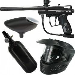 Pistola Pack Spyder Victor Black air