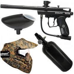 Pack Spyder Victor Black + air  + masque thermal Marpat