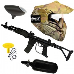 Paint ball pack SW1 kalashnikov thermal V-cam