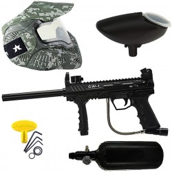 Kit lanceur paintball SW1 air avec masque thermal Acu