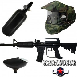 Pack complet SW1 Maraudeur Explorer (bouteille + masque) au paintball shop